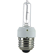 Sunlite 03075-SU 250JDE/CL/MED 250W Single Ended T4 Halogen Bulb, Medium Base, Clear - Pkg Qty 12