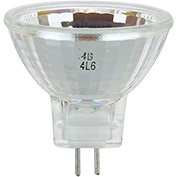Sunlite 03185-SU 35MR11/GU4/SP/12V 35W MR11 Mini Reflector Halogen Bulb, GU4 Base - Pkg Qty 24