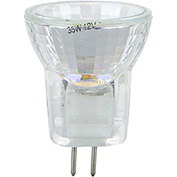 Sunlite 03192-SU 20MR8/CG/G4/FL/12V 20W MR8 Mini Reflector Halogen Bulb, Bi-Pin Base - Pkg Qty 12