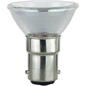 Sunlite 03195-SU 20MR11/CG/DC/NSP/12V 20W MR11 Mini Reflector Halogen Bulb, GU4 Base - Pkg Qty 24
