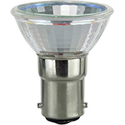 Sunlite 03198-SU 20MR11/CG/DC/NFL/12V 20W MR11 Mini Reflector Halogen Bulb, Bayonet Base - Pkg Qty 24