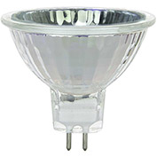 Sunlite 03218-SU 35MR16/CG/FL/12V 35W MR16 Mini Reflector Halogen Bulb, GU5.3 Base - Pkg Qty 24
