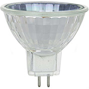 Sunlite 03235-SU 35MR16/CG/FL/120V 35W MR16 Mini Reflector Halogen Bulb, GU5.3 Base - Pkg Qty 24