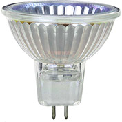 Sunlite 03240-SU 50MR16/CG/FL/120V 50W MR16 Mini Reflector Halogen Bulb, GU5.3 Base - Pkg Qty 24