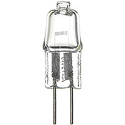 Sunlite 03245-SU Q5/CL/G4/12V 5W Single Ended T2.5 Halogen Bulb, Bi-Pin Base, Clear - Pkg Qty 12