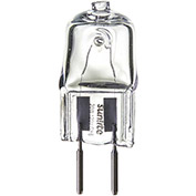 Sunlite 03266-SU Q20/CL/GY4/12V/CD2 20W Single Ended Halogen Bulb, Bi-Pin, Clear - Pkg Qty 12