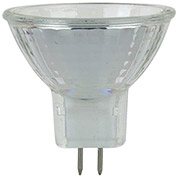 Sunlite 03450-SU 5MR11/CG/GU4/NFL/12V 5W MR11 Mini Reflector Halogen Bulb, GU4 Base - Pkg Qty 24