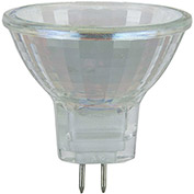 Sunlite 03455-SU 10MR11/CG/GU4/NFL/6V 10W MR11 Mini Reflector Halogen Bulb, GU4 Base - Pkg Qty 24