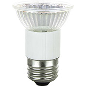 Sunlite 03475-SU 50JDR/MED/FL/120V 50W JDR MR16 Mini Reflector Halogen Bulb, Medium Base - Pkg Qty 12