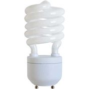 Sunlite® 05494-SU SL27/GU24/27K 27W GU24 Spiral CFL Light Bulb, GU24 Base, Warm White