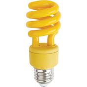 Sunlite® 05503-SU SM13/Y 13W Colored Mini Spiral CFL Light Bulb, Medium Base, Yellow