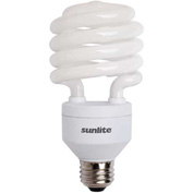Sunlite® 05546-SU SL32/E/65K 32W Spiral CFL Light Bulb, Medium Base, Daylight