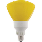 Sunlite® 05640-SU SL25R40/Y 25W R40 Reflector Colored CFL Light Bulb, Medium Base, Yellow