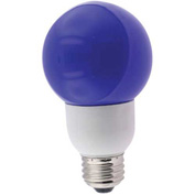Sunlite® 05650-SU SLG9/B 9W Blue Globe CFL Light Bulb, Medium Base, Pkg Qty- 24