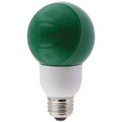 Sunlite® 05660-SU SLG9/G 9W Green Globe CFL Light Bulb, Medium Base, Pkg Qty- 24