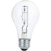 Sunlite 25136-SU 42A/HAL/CL 42W A Type Halogen Bulb, Medium Base, Clear - Pkg Qty 12