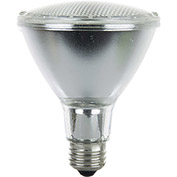 Sunlite 26065-SU 60PAR30/LN/HAL/FL 60W PAR30 Long Neck Reflector Halogen Bulb, Medium Base - Pkg Qty 15