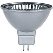 Sunlite 66060-SU 35MR16/CG/FL/12V/SB 35W Silver Back MR16 Mini Reflector Halogen Bulb, GU5.3 Base - Pkg Qty 12