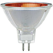 Sunlite 66100-SU 50MR16/NSP/12V/R 50W Colored MR16 Mini Reflector Halogen Bulb, GU5.3 Base, Red - Pkg Qty 12