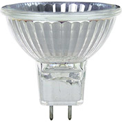 Sunlite 66125-SU 50MR16/CG/GY8/FL/120V 50W MR16 Mini Reflector Halogen Bulb, GY8 Base - Pkg Qty 12