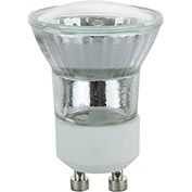 Sunlite 66165-SU 20MR11/CG/GU10/FL/120V 20W MR11 Mini Reflector Halogen Bulb, GU10 Base - Pkg Qty 12