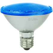 Sunlite 80021-SU PAR30/LED/4W/B 4W PAR30 Colored Reflector, Medium Base Bulb, Blue - Pkg Qty 12