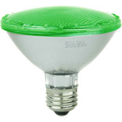 Sunlite 80022-SU PAR30/LED/4W/G 5W PAR30 Colored Reflector, Medium Base Bulb, Green - Pkg Qty 12