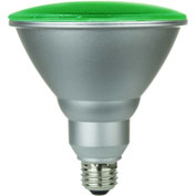 Sunlite 80042-SU PAR38/LED/6W/G 6W PAR38 Colored Reflector, Medium Base Bulb, Green - Pkg Qty 6