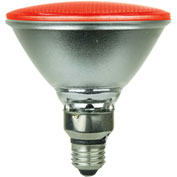 Sunlite 80043-SU PAR38/LED/4W/R 4W PAR38 Colored Reflector, Medium Base Bulb, Red - Pkg Qty 6