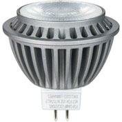 Sunlite 80090-SU MR16/LED/7W/FL35/DIM/ES/27K/CD 7W MR16 Mini Reflector, GU5.3 Base Bulb, White - Pkg Qty 12