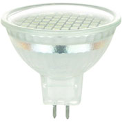 Sunlite 80096-SU MR16/60LED/2.2W/GU5.3/WW/120V 2.2W MR16 Mini Reflector, GU5.3 Base Bulb, Warm White - Pkg Qty 12