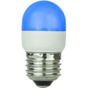 Sunlite 80251-SU T10/LED/1W/B 1W T10 Tubular Indicator, Medium Base Bulb, Blue - Pkg Qty 10