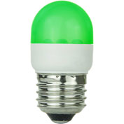 Sunlite 80252-SU T10/LED/1W/G 1W T10 Tubular Indicator, Medium Base Bulb, Green - Pkg Qty 10