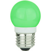 Sunlite 80322-SU G13/LED/1W/G 1W G13 Globe, Medium Base Bulb, Green - Pkg Qty 10