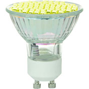 Sunlite 80329-SU MR16/LED/2.8W/GU10/Y 2.8W MR16 Colored Mini Reflector, GU10 Base Bulb, Yellow - Pkg Qty 12