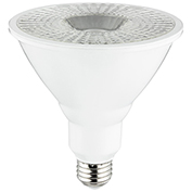Sunlite 88063-SU PAR38/LED/19W/FL40/DIM/ES/27K 19W PAR38 Reflector Bulb,, Medium Base Warm White - Pkg Qty 6