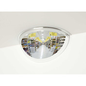 """See All® 180-Degree Acrylic Half Dome Mirror - Indoor, 26"""" Diameter - PV26-180"""