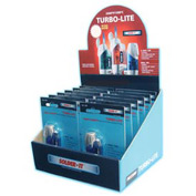 Turbo-Lite 12 Count Pre-Loaded Counter Display - Pkg Qty 12