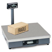"Brecknell 7829 Shipping Digital Scale 250lb x 0.05lb 20"" x 20"" x 5-5/16"""