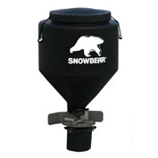 SnowBear® Hitch Mounted Salt Spreader TGS-325, 250 lbs. Capacity with Wireless Remote