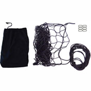 "Snap-Loc SLAMCN6072 Military Cargo Net 60""x72"" With Cinch Rope, 6 Snap-Hook Carabiner & Storage Bag"