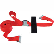 "Snap-Loc® SLTE216CR E-Strap 2""X16' Cam Red (Usa) With Hook & Loop Storage Fastener"
