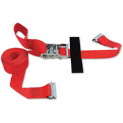"Snap-Loc® SLTE216RR E-Strap 2""X16' Ratchet Red (Usa) With Hook & Loop Storage Fastener"