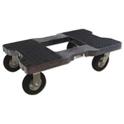 "Snap-Loc™ Air-Ride Dolly SL1500D6AB - 6"" Casters - 1500 Lb. Cap. - Black"