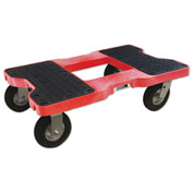 "Snap-Loc™ Air-Ride Dolly SL1500D6AR - 6"" Casters - 1500 Lb. Cap.-  Red"