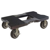 "Snap-Loc™ All-Terrain Dolly SL1500D6B - 6"" Casters -  1500 Lb. Cap. - Black"