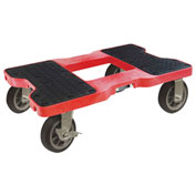 "Snap-Loc™ All-Terrain Dolly SL1500D6R - 6"" Casters - 1500 Lb. Cap. - Red"