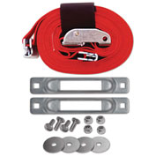 "Snap-Loc™ Cart Strap Anchor Kit SLCCSAKWCI with 2""x16' Cam for Platform Trucks"