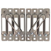 Snap-Loc™ Snaplocs E-Track Single Strap Anchors SLCSST10 - Stainless Steel - 10 Pack