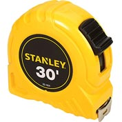 "Stanley 30-464 1"" x 30' High-Vis High Impact ABS Case Tape Rule"
